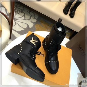 715 2019 New Luxury Womens Shoes Boots Platform Best Fashion Winter Ankle Boots Brand Women Size 35-41