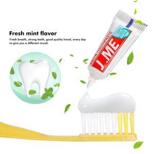 1Pcs отель Одноразовая зубная щетка с зубная паста Kit Экологию путешествия Пластиковые Зубной Зубы Уход за полостью рта щетка для чистки