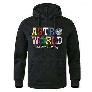 À capuche Hoddies manches longues Lettre Homme Vêtements Mode Casual Vêtements Longueur régulière Astroworld Hoodie Mens Designer Pull en molleton