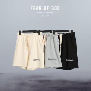 Nebbia Essentials Pantaloni timore di Dio Pantaloncini Shorts casual pantaloni della tuta degli uomini di pantaloni cotone di alta qualità HipHop Streetwear allentato di grande misura da corsa