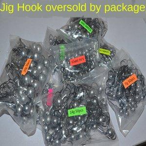 Luya plomb de couleur primaire sac couleur primaire plomb sac de bande à crochets 5g 7g 10g 14g paquet de bande à crochets 50 renforcée