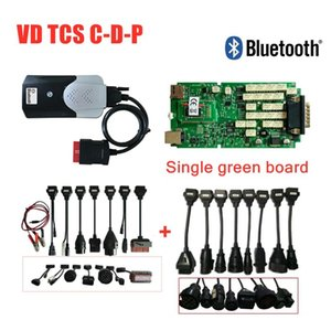 2020 Quality A+ Single Green Board with bluetooth 2020.00 keygen VD DS150E CDP OBD2 scan for delphis cars truck diagnostic tool