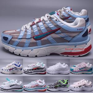 Classic P-6000 Donne da donna scarpe da corsa 2020 vecchie scarpe da jogging laser blu triplo bianco elettrico verde acqua rosa scarpe da ginnastica rosa taglia 36-45