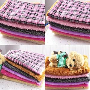 Мягкие теплые Прекрасные Одеяла Укус Прочный помыться Pet Шерстяного Одеяло Одеяла Многоцветного грязеотталкивающая Питомцы Принадлежности 9 5gg E2