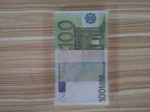 L'argent bar prop Jouets Banknote-Sets Collection Fake-papier Euro 2pcs dans For10 / 20/50/100 / 200/500 Novelty7