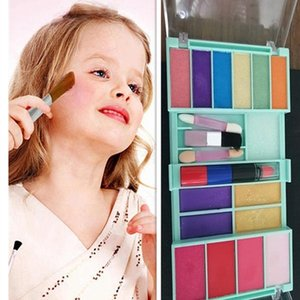 21 pieces girls unfold able easy take away washable colorful multifunction first gift play makeup set new