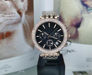 전체 기능 다이아몬드 시계 여성 명품 디자이너 여성은 시계 남성 손목 시계 숙녀 여성 폴딩 버클 로즈 골드 드레스 시계