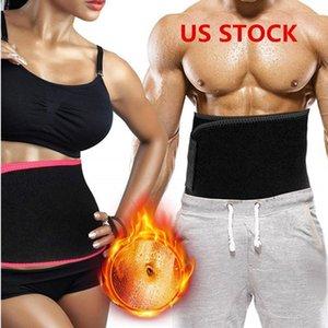 EU Stock aptidão cintura Trimmer Forma Belly Belt aperto Emagrecimento Slimming Bainha espartilho cintura instrutor Corpo Shaper Tummy FY8053