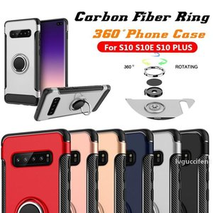 Hybrid Armor Case For Samsung Galaxy S10 5G Plus Note 10 Pro A20 M20 A70 A40 J4 Plus A8 2018 Note 9 Iphone XS MAX 7 8 XR Magnetic Ring Case