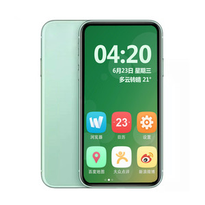 Goophone 11 6.1inch Quad Core Andorid 1G RAM 4G ROM Add 4GB Memory Card Bluetooth WIFI Unlocked Mobile Phone With Sealed Box