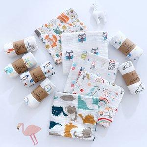 Pure Cotton Class a Double-Layer Gauze Towel Swaddling Towel Baby Quilt Blanket Cotton Non-Fluorescent Childrens Bath Towel Hair