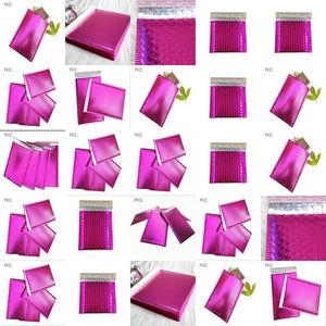 Eposgear 25 Purple Shiny Metallic Foil Bubble Padded Bag Mailing 818Czwhgoxl Eposgear Purple Metallic Mailing Envelopes hotclipper Bmcfz