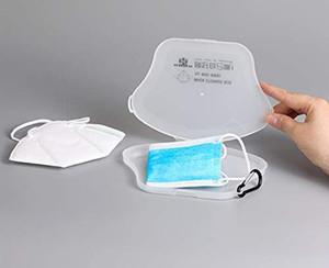 Портативная Одноразовая маска чехол, фильтр Организатор Контейнеры Box, Маски держатель для Eatting пищи