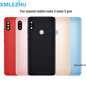 10pcs For Xiaomi Redmi Note 5  Note 5 Pro Battery Back Cover Rear Door Housing Side Key Replacement Repair Spare Parts