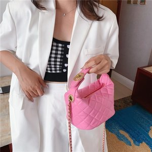 Crossbody Bags For Women Luxury Handbag Classic Bucket Bag Candy Color Soft Leather Clutch Purse For Women Chain Shoulder Bag