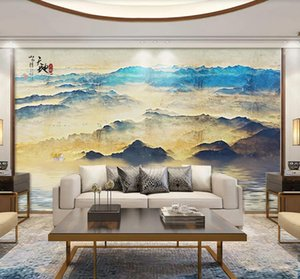 Custom 3D Mural Wallpaper Artistic abstract oil painting landscape Wall Painting Living Room TV sofa Background Wallpaper