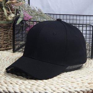 Korean style pure cotton Big Head baseball cap baseball cap small one plus size extra size hat