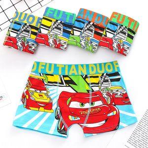 2020 New Car Underpants and men's boxer medium and large children's elastic underwear children's underwear