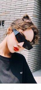Paketi ile Y Lüks 4360 Güneş gözlüğü İçin Erkekler Ve Kadınlar Popüler Moda Tasarımcısı Güneş UV Koruma Çerçevesiz Üst Kalite gel