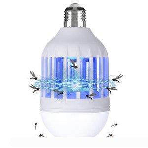15W E27 LED Mosquito Killer Lighting Bulb 2 in 1 Mosquito Killer Lamp Fits E26 E27 Light Bulb Socket 1 Pack