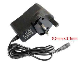 High Quality with IC Program AC Adapter DC 12V 1A & 1000mA Power Supply UK Plug DC 5.5mm x 2.1mm Fedex   DHL Free shipping