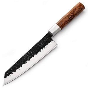 اليابانية سكاكين المطبخ اليدوية Kiritsuke سكين الشيف الطبخ أدوات التعامل مع الخشب عالية الجودة صديقة للبيئة المنتجات