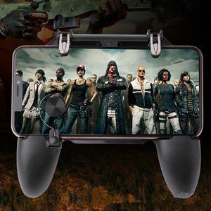 Joystick sem fio W11 + PUBG Móvel Gamepad Controlador PUBG Jogo Shooter Controller para iPhone Samsung Android Phone frete grátis