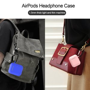 TPU Soft Silicone Case For Airpods Accessories Protector Cover Ultra Thin Cover Shockproof Holder For Apple Air Pods