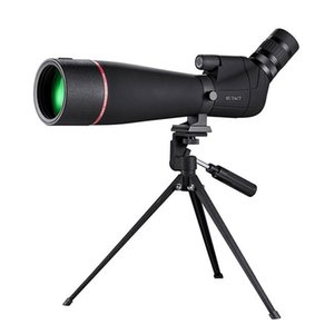 HTK-72 20x-60x High Definition Night Vision Zoom Monocular Telescope for Outdoor Camping Birdwatching with Tripod