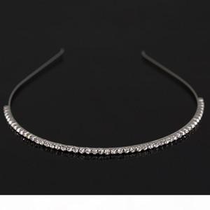 G Fashion Women &#039 ;S Hot New Silver Crystal Rhinestone Hair Band Headband Hair Wear Accessories Free Shipping H029