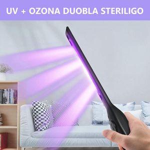 LED 휴대용 UV 소독 스틱 조명 핸드 헬드 UVC 가벼운 살균 자외선 살균기 마스크 홈 여행 살균 램프 USB 충전식