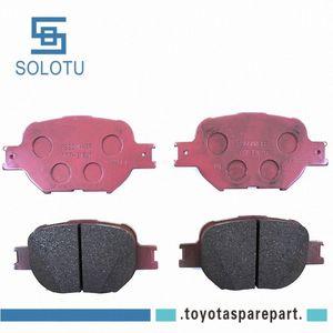 Front Disc Brake Pad Kit For COROLLA 1ZZ-FE 1ZR-FE 04465-21030 0ZNC#