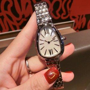 Mulheres de luxo Quartz Relógios de pulso mulheres preciosos Aço Inoxidável Watchcase mulheres diário wathces