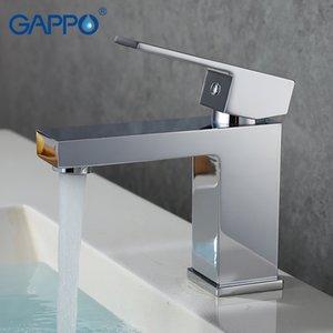 Gappo bacino contemporanea rubinetto miscelatore piattaforma bagno rubinetto Miscelatore rubinetto miscelatore cascata lavandino llave de agua