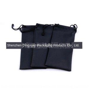 kese çok renkli mikrofiber bez bir gözlük bez torba seti çanta yüksek kaliteli siyah iğne gözlük