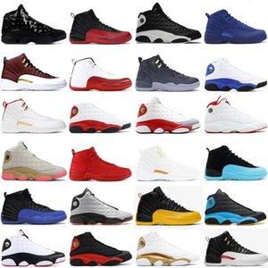 2020 New 12s Winterized WNTR Game Royal FIBA men basketball shoes NakeskinJordan 12 Flu Game University Gold trainer sneakers SizeDFrf#