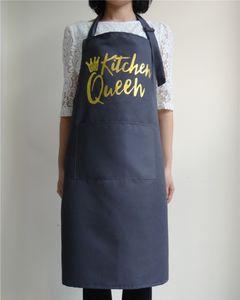Freeshipping Supermarket Waiter Aprons With Pockets Restaurant Kitchen Cooking Nail Shop Art Work Apron Design Logo Customize