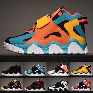 Sapatos New Barrage Mid QS Scottie Pippen crianças Mens Basketball Mulheres Classic Black Branco Hiper Uva Raptors roxo Sports Sneakers