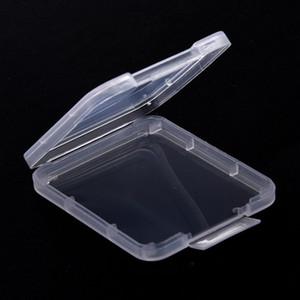 Bellek Kartı Vaka Kutusu Koruyucu Kılıf CF SD Kart Aracı Plastik Şeffaf Saklama Kutusu Koruma Kılıf Kart Konteyner IIA337