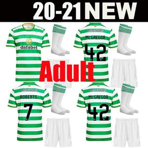 adult kit 20 21 Celtic fc Soccer Jerseys MCGREGOR GRIFFITHS 2020 2021 Klimala FORREST BROWN ROGIC CHRISTIE EDOUARD adult sets Football Shirt