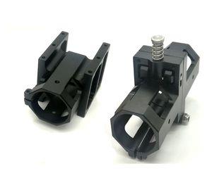 30mm brazo plegable Seiten conector CNC aluminio parte Kit para agricultura agrícola Drohne multicóptero quadcopter