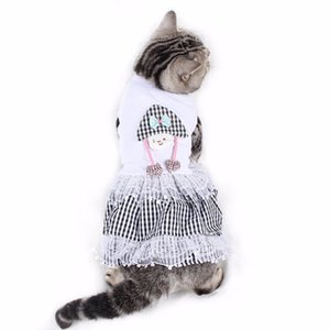 PipiFren Dogs Dresses Lace Wedding Princess Skirt For Pets Party Dress Tutu Cats Dogs Clothes Cute Fashion hondenkleding perros