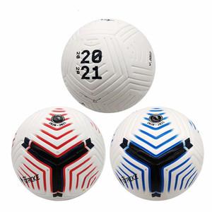 New 2020-2021 PLG taille du ballon de football 5 balle anti-dérapant de particules de haute qualité gaufrage Fligh haut livraison libres de qualité
