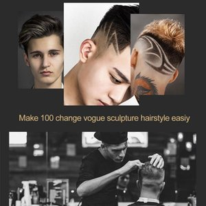 Kemei 1949 Forme professionnelle Best Hair Up Clippers Trimmer 0mm T Lame Terminer chauve Haircut machine iXDyz qpseller