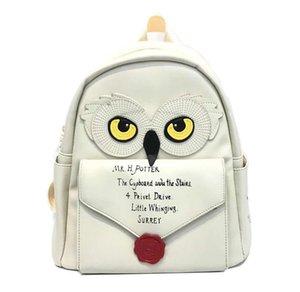 Donne Ragazze Hedwig Owl Zaino H. Potter Hogwarts MINI Bag sacchetto di scuola di Hogwarts Lettera Shoulder Bags CX200803