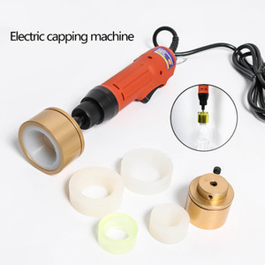 DHL Free! Capping Machine Smoke Oil Water Drinks Plastic Bottle Capper Cap Screwing Machine Electric Sealing Machine