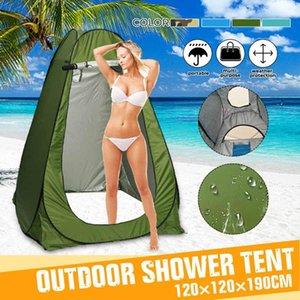 SGODDE 120x120x190cm Privacidade Duche WC Camping automática rápida abertura Tent Função 4 cores UV Outdoor Vestir Tent