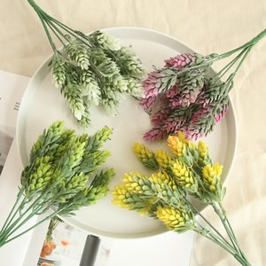 Pine Cone Artificial Flowers Plants for Home Decoration Pompom Pineapple Grass Flowers DIY Party Event Supplies
