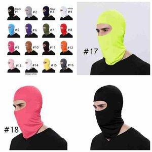 Açık Balaclava Tam Kapak Yüz Boyun Eşarp Turban Şapka Motosiklet Windproof Güneş Koruma Bisiklet Yüz ZZA2468 Maske Caps