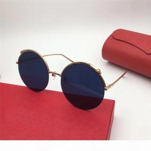 yeni moda kadın marka tasarımcısı orijinal vaka ile 0149 yuvarlak çerçevenin güneş gözlüğü defile tasarım yaz stili güneş gözlüğü